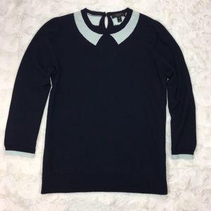J. Crew Merino Tippi Sweater In Trompe L'oeil.